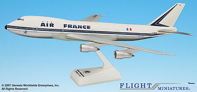 Flight Miniature's Air France 747-100 1:200 Scale Plastic Model Old Livery