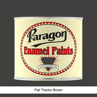Paragon Paints Fiat Tractor Brown High Temp Engine Enamel Paint