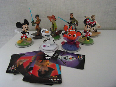Disney Infinity 3.0 - 8-teiliges-Set (Nick Wilde, Nemo, Ezra Bridger,....) - NEU
