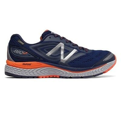 Men's New Balance M880BX7 Gore-Tex Running Shoes - Navy/Orange - NIB!