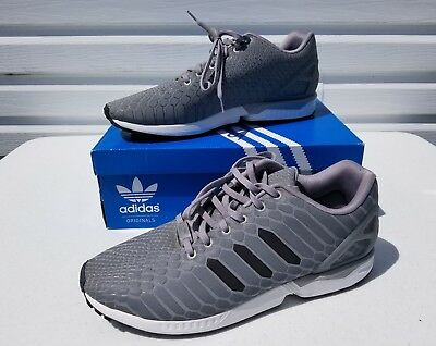 outlet store 0aa39 f3416 Adidas Originals Zx Flux Xeno Grey Mens Size 14