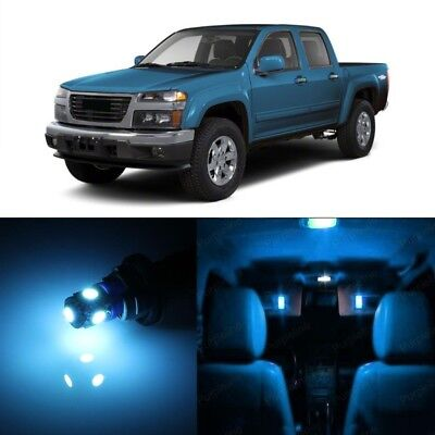 PRY TOOL 11 x Ice Blue LED Interior Light Package For 2011-2012 Infiniti G25