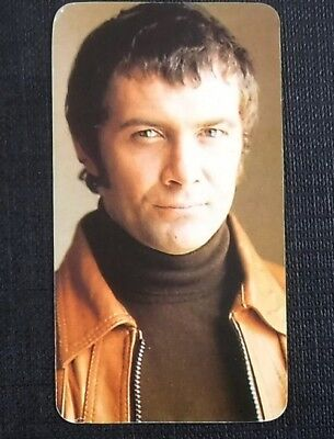 Lewis Collins (The Professionals) : 1979 TV All Stars Card by Golden Wonder