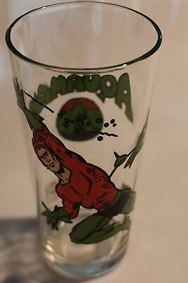 1978 Pepsi Dc Comics Collectible Aquaman Glass Excellent