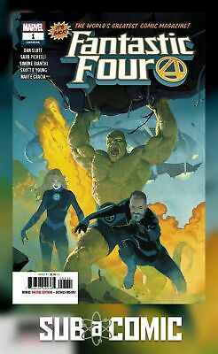 FANTASTIC FOUR #1 (MARVEL 2018 1st Print) COMIC
