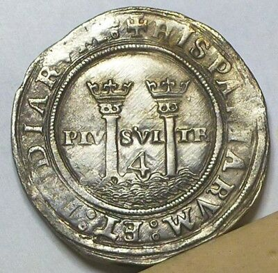 Mexico 4 Reales ND (1542-1545) Choice Almost Uncirculated
