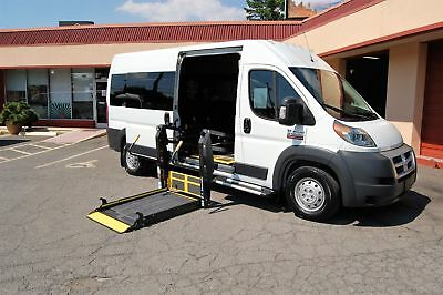 Ram H-Cap 2 Pos. VERY NICE HANDICAP ACCESSIBLE WHEELCHAIR LIFT EQUIPPED VAN....UNIT# 2214FT