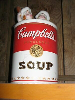 Campbell Soup Cookie Jar