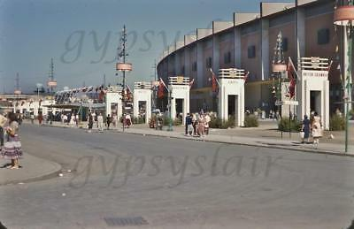 1955 Photo Slide CANADIAN NATIONAL EXHIBITION GRANDSTAND Provence Arches TORONTO