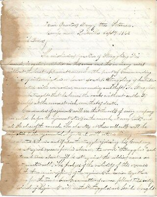 General McClellan, Special Orders, Army of Potomac, Concerning Stragglers 9/9/62