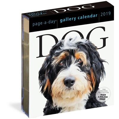 2019 Dog Gallery Desk Calendar, More Dogs by Workman Publishing