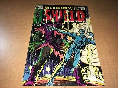 Nick Fury Agent of SHIELD 1969 Marvel Comic Book #9 BC