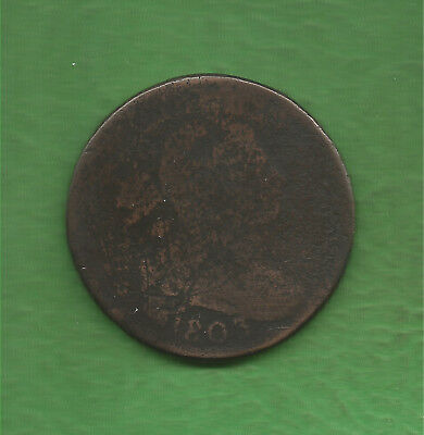 1803 DRAPED BUST, LARGE CENT, 1/000 on reverse? - 215 YEARS OLD!!!