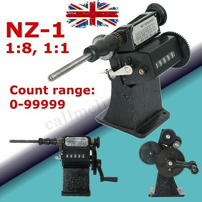 NZ-1 Manual Hand Coil Electric Dual-Purpose Counting Winding Winder Machine