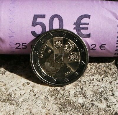"Lituanie Piece 2 Euro Commemorative 2018 ""100 Ans Independance Pays Baltes"""