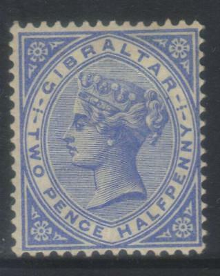 Gibraltar 1898 Crown Ca Sg42 Mh Cat £45