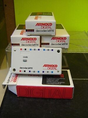 "Arnold Digital 86078 4x Decoder k87N im Set ""Neu""(276K)"