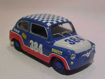 3 Inch Seat Fiat 500 600d Rally 1964 Solido 1 43 Diecast Mint Loose