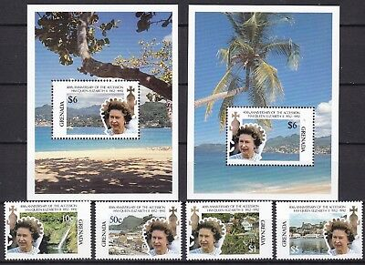 Grenada 1992 Accession Inc 2 X S/s (50) Mint Never Hinged