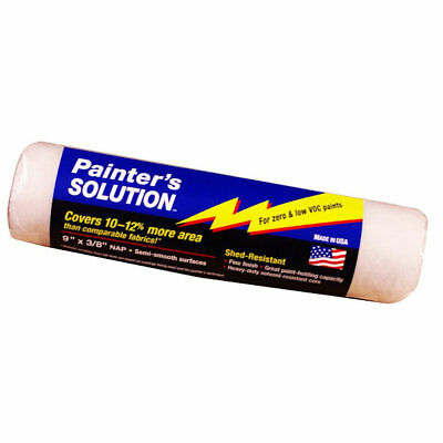 """Wooster 48443 9"""" Painters Solution Roller Cover, 3/8"""" Nap"""