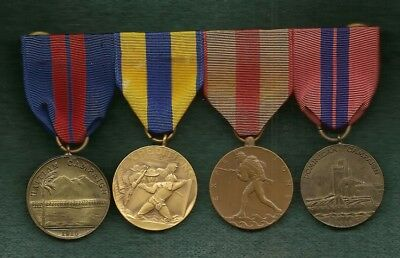 30 Four USMC Campaign Medals Haitian Expeditions Expeditions Dominican