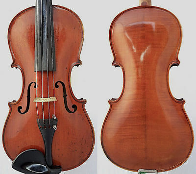 FINE 4/4 ANTIQUE GERMAN VIOLIN Label:  Jacobus STEINER 1745 FLAMED  小提琴 ヴァイオリン