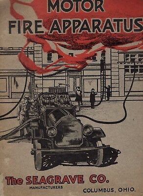Early 1900's Seagrave Fire Engines Catalog
