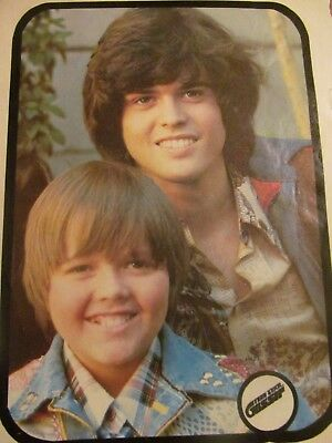 The Osmonds, Donny Osmond, Michael Gray, Full Page Vintage Pinup, Brothers