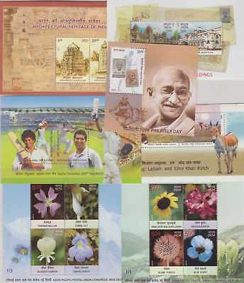 India Modern 2013-2016 Selection 41 Mini-sheets UM
