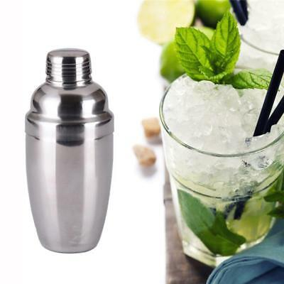 Stainless Steel Bar Cocktail Shaker Mixer Drink Bartender Martini Tools Set W
