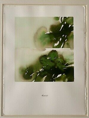Davide Benati  Original T/M Watercolor Signed , 1995