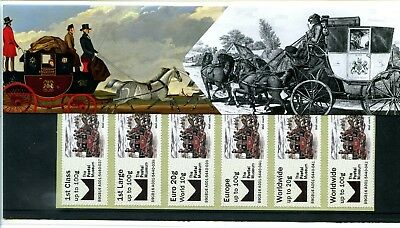 2016 Mail Coach Great Britain Postal Museum Post & Go Presentation Pack Vgc