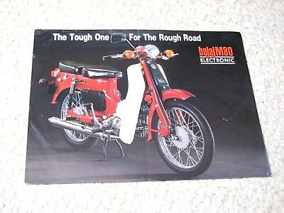 1980's BAJAJ M80 (INDIA) SALES BROCHURE.....