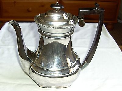 """Superb Quality Wm. Hutton, Sheffield Silver Plated Teapot Height 9"""""""