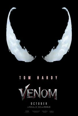 Venom - original DS movie poster - 27x40 D/S Adv Tom Hardy - Spiderman