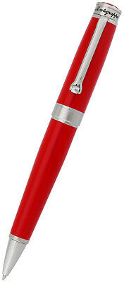 Montegrappa Parola 32 GB USB Ballpoint Pen Twist Open Red Resin ISWOUSBR