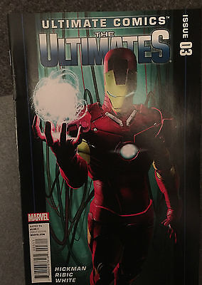 Ultimate Comics The Ultimates Issue 3 December 2011 - Avengers - Fantastic Four