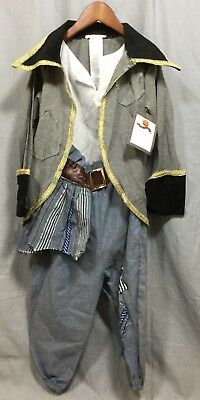 Pottery Barn Kids Over The Top Blue Pirate Halloween Costume 7-8
