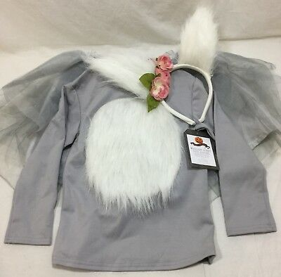 Pottery Barn Kids Woodland Bunny Tutu Halloween Costume 4-6