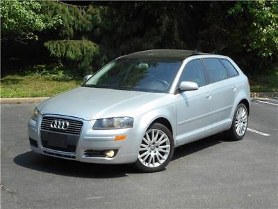 2006 Audi A3 PREMIUM PACKAGE MOONROOF ACCIDENT FREE SMOKE FREE! 2006 AUDI A3 PREMIUM PACKAGE MOONROOF SMOKE FREE CLEAN CARFAX 4 6 NO RESERVE!!!