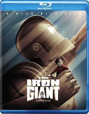 THE IRON GIANT New Sealed Blu-ray Signature Edition