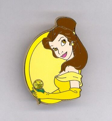 Disney Beauty & the Beast Princess Belle November Birthstone Series Jeweled Pin