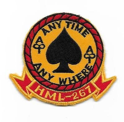 USMC HML-267 STINGERS 3 inch patch UH-1 LIGHT HELICOPTER SQN