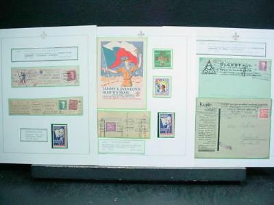 NobleSpirit NO RESERVE (GC4) Exciting 1931 1st Slavic Scout Jamboree Collection
