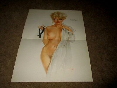 Vargas-Is This What They Mean About Having A Formal Affair?-Blonde-Vintage Pinup