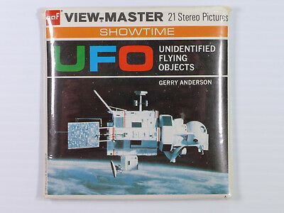 View-Master Gerry Anderson UFO (B417) - Three reels & booklet – RR