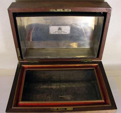 Vintage Benson & Hedges Fancy Copper Lined Wooden Cigar Humidor Storage  Box