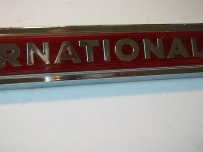1960S-70S IH International Red Emblem 11810-1 2754222-R1 Truck Scout Lot #1