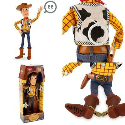 "Toy Story PULL STRING WOODY 16"" TALKING FIGURE - Disney Exclusive [Toy]"