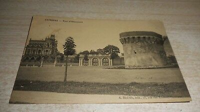 CPA - Cambrai - tour d'abancourt be (59)